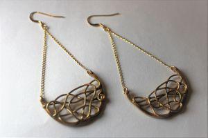 Bo bronze filigranées