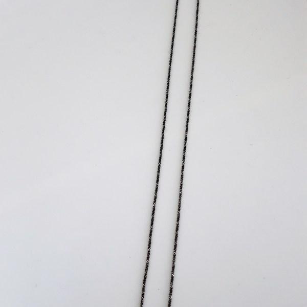 Chaîne herringbone rhodiée