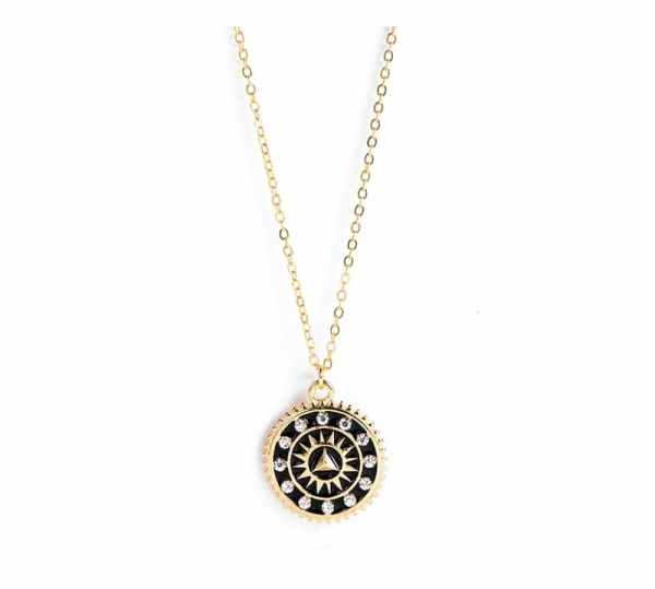Collier Crystal Sauvage