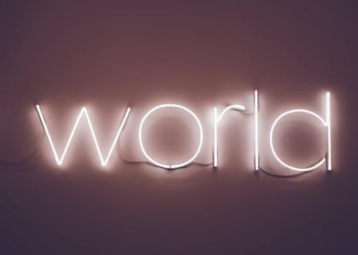 Collier Globe - Monde