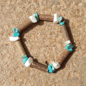 Bracelet Coquillage Turquoise