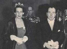 1950s Comtesse Sonja Bernadotte de Wisborg