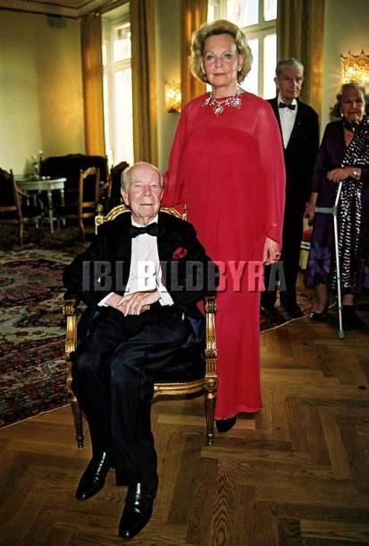 Marianne Bernadotte och Sigvard 2001 (c) Per Hessman / IBL