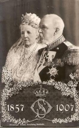 1907 ca. Reine Sophia de Suède 2