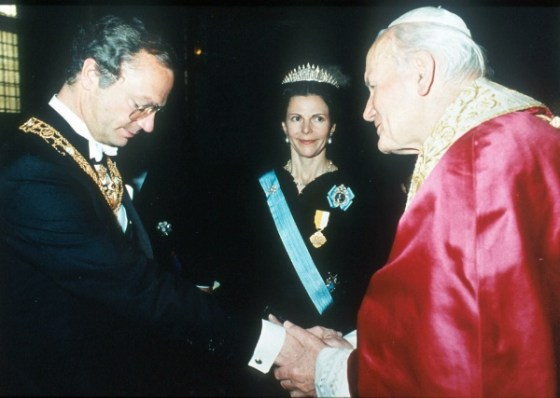 1991 05 Swedish State Visit to the Vatican 5
