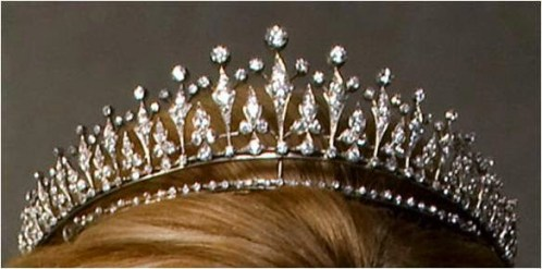 The Modern Fringe Tiara