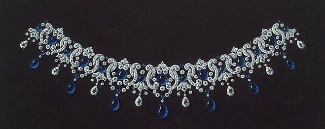 Empress Alexandra Feodorovna's Kochli Sapphire Necklace 4