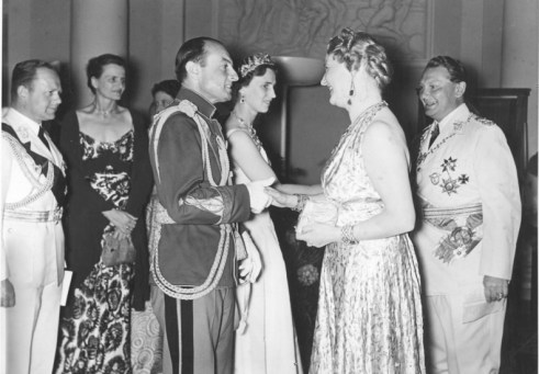 1939 Yugoslavian State Visit to Germany 1 Emmy & Hermann Göring 1