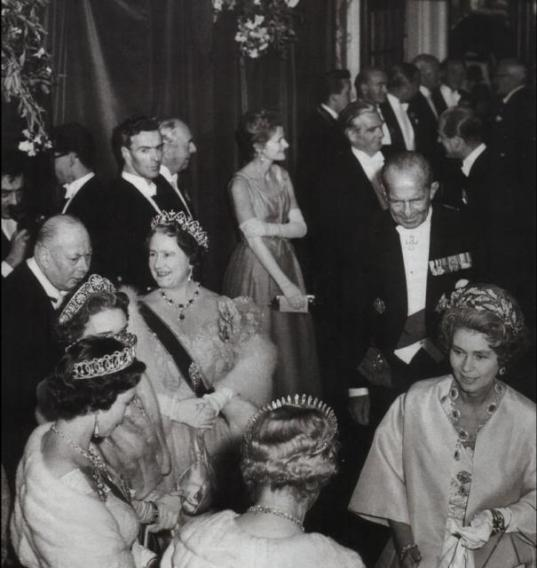 1963 07 11 Greek State Visit to UK 1 A Midsummer Night's Dream at the Aldwych Theater