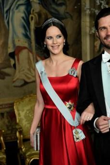 Princess SofiaOfficial dinner, Royal Palace, Stockholm, Sweden, 2017-03-23(c) Karin Törnblom / IBLRepresentationsmiddag, Kungliga slottet, Stockholm, 2017-03-22