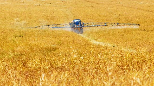 Pesticiden spuiten