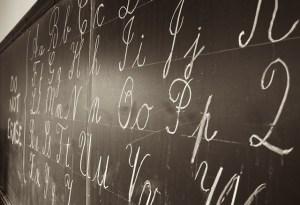 Longfibrose door inademen van schoolbord-krijt
