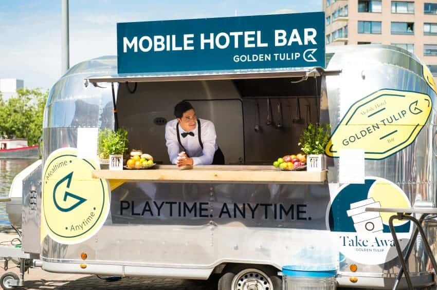 golden tulip mobile hotel bar