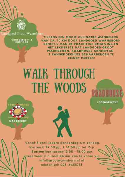 Culinaire Wandeling Arnhem Walk Though The Woods
