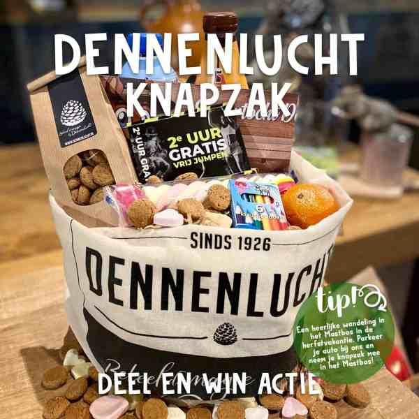 Knapzak Wandeling Restaurant Dennenlucht Breda