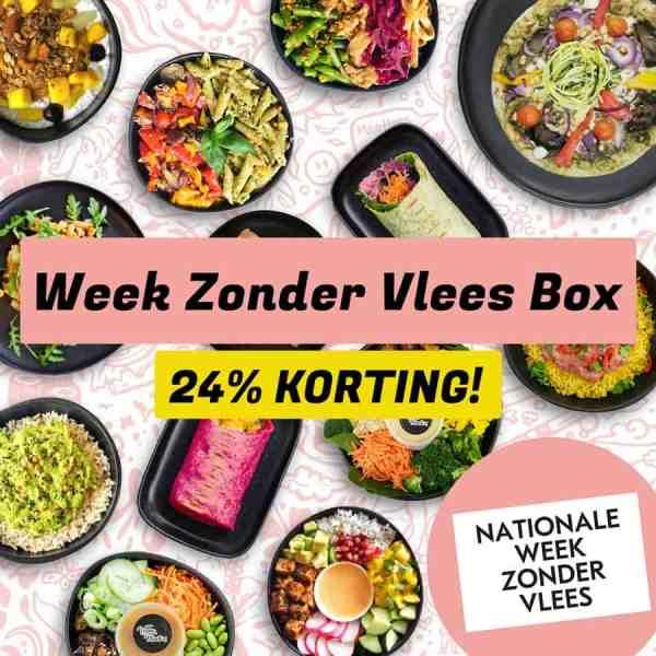 Week Zonder Vlees Maaltijdbox Vegan Masters