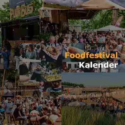 Foodfestival Kalender & Fopdtruck festival agenda