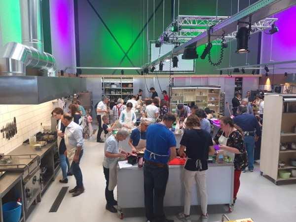 Kookworkshops van Peter Pan Kookstudio Amsterdam