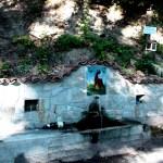 Roadside water fountain