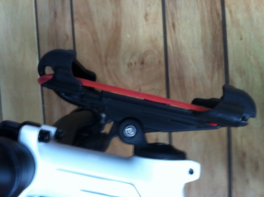 Delta Smart Phone Caddy on my bike