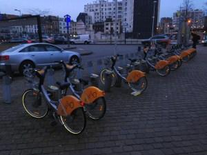 Bicycle sharing program Villo!