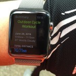 Apple Watch on an Exercise