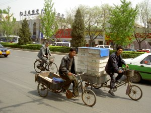 Bicycles-Lorries-Beijing