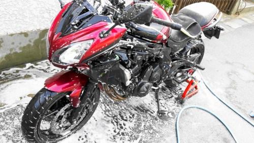 バイク 洗車