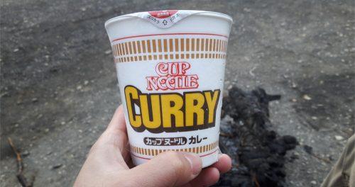 ゆるキャン カレー麺
