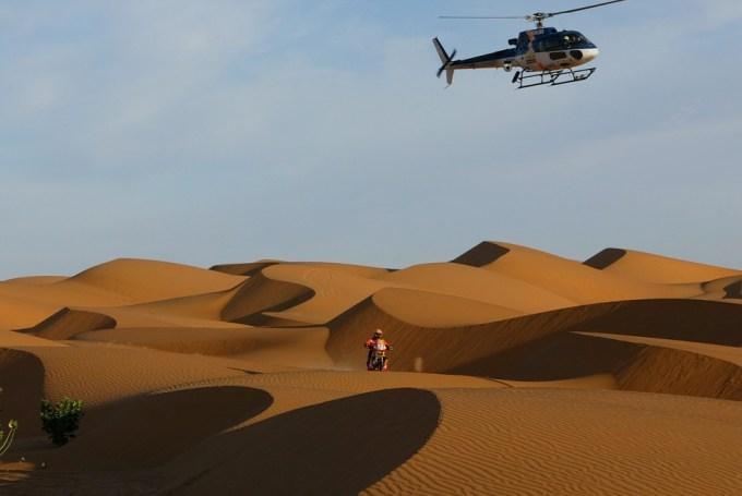 サハラ砂漠 ダカールラリー バイク