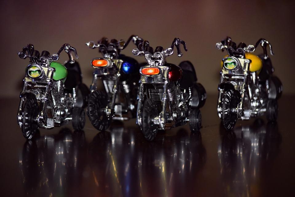 オートバイ バイク 輝く 反射