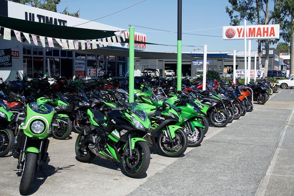 バイク ディーラー オートバイ ロードバイク
