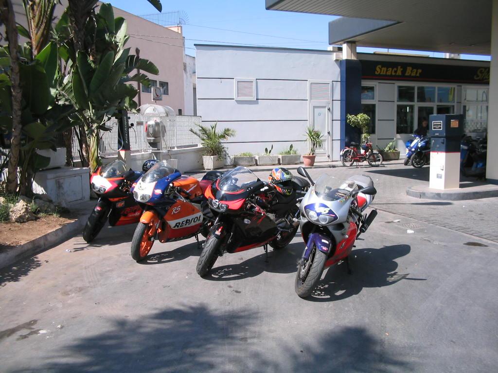 アプリリア バイク イタリア 4台