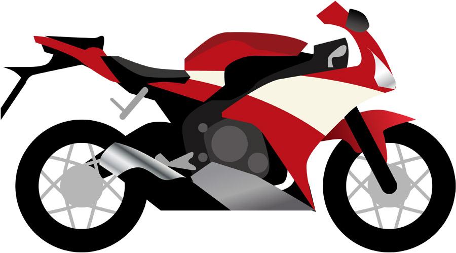 スーパースポーツのオートバイ