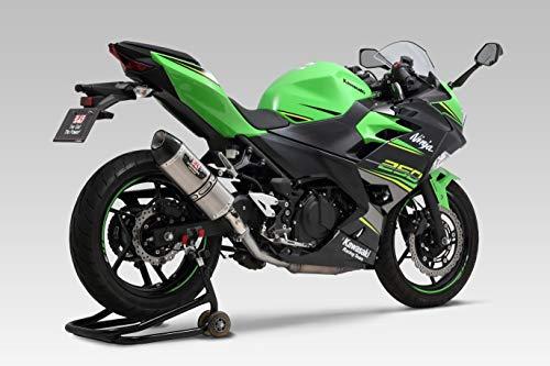 ヨシムラ スリップオン Ninja250 400(18-20) Z250 400(19-20) R-77S サイクロン 政府認証 EXPORT SPEC サテンフィニッシュ カーボンエンド YOSHIMURA