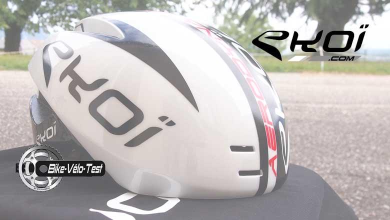 test du casque eko a rodynamic bike velo test. Black Bedroom Furniture Sets. Home Design Ideas