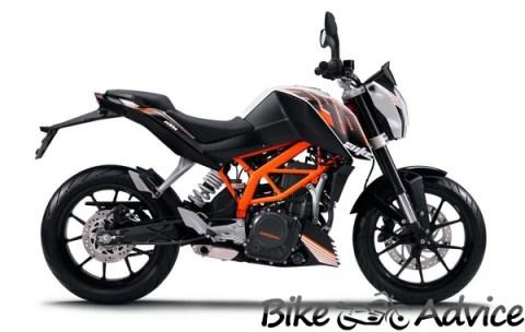 KTM Duke 390 Bikeadvice
