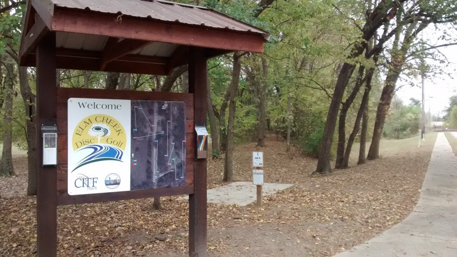 North Elm Creek Micro Trail Kiosk
