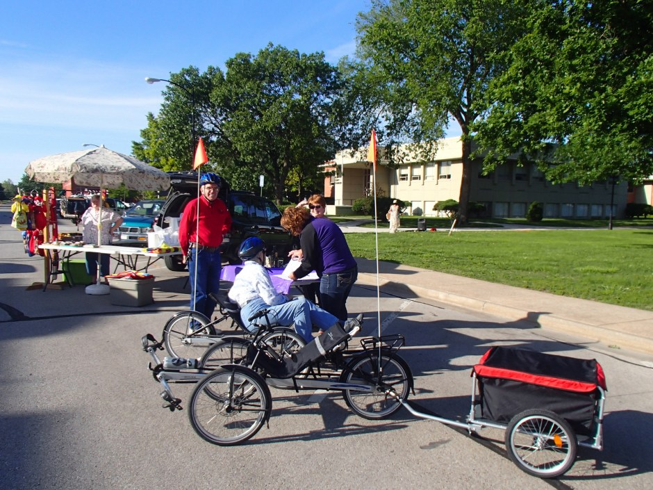 Shopping By Bike At The Allen County Farmer's Market
