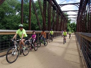Southwind Rail Trail Elm Creek Bridge