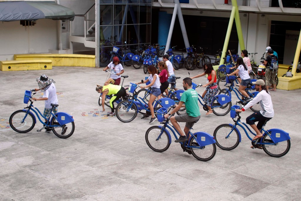 Jogos de Bicicleta com Ana Luiza Carboni, Bike Anjo Niterói
