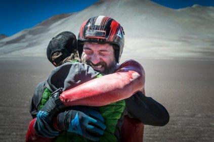 Markus Stoeckl during VMax 200 at the Atacama Desert, Chile on December 10, 2016