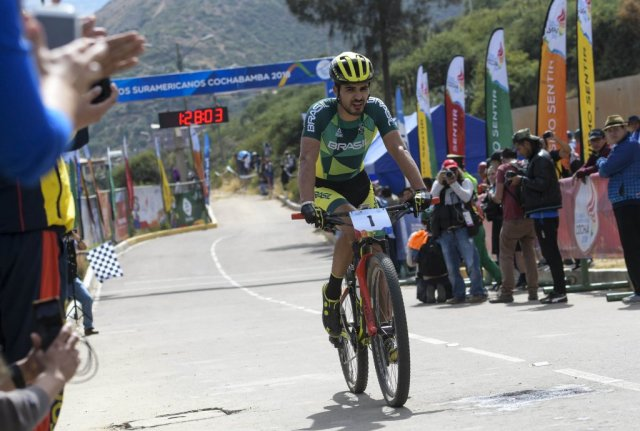Luiz Henrique Cocuzzi conquista prata no Mountain Bike dos Jogos Sul-Americanos1