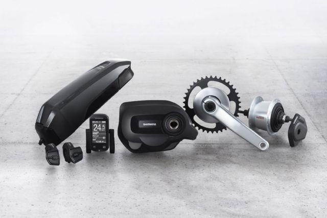 Novo Shimano Steps componentes de bikes elétricas para ciclismo urbano e off-road (4)