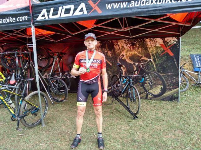 Em terceira posição, Wener Wind competiu na 'Master D1'. Foto Arquivo Pessoal.