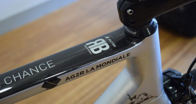 Factor O2 de Romain Bardet customizada para o Tour de France 2018 (14)