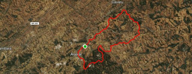 1º bike ride avelar - Mapa satélite