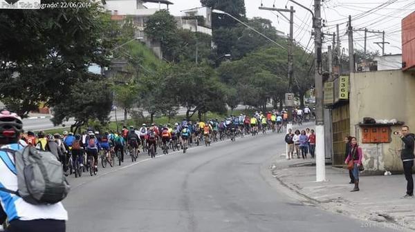Pedal da Brasil BIKEmotion em São Paulo (Divulgação)