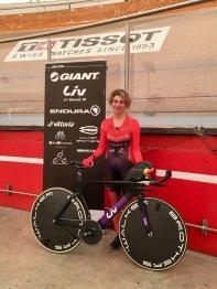Vittoria Bussi quebra o recorde da hora na segunda tentativa em 48 horas (2)