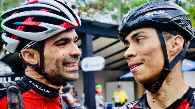 Bruno e Everson cruzaram os limites do corpo e finalizaram o Brasil Ride. Foto tatiana Cabral.